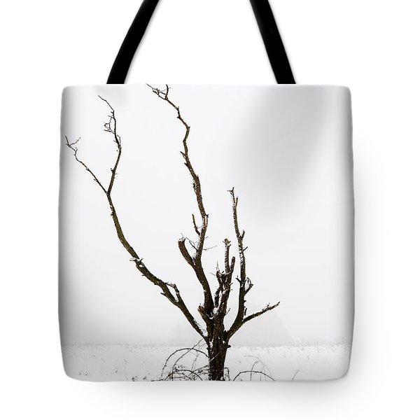 Minimal Tree Tote Bag