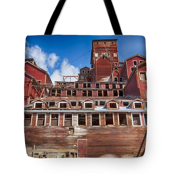 Mining Glory In Red Tote Bag