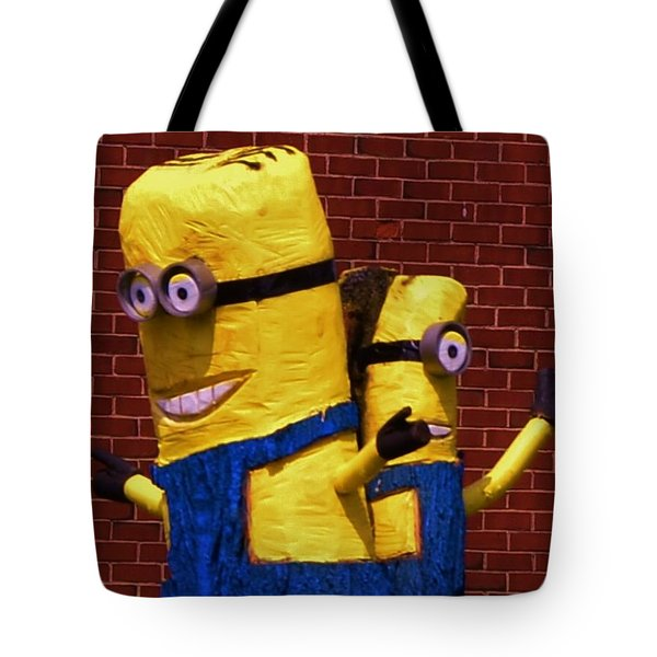 Minion Twins Tote Bag