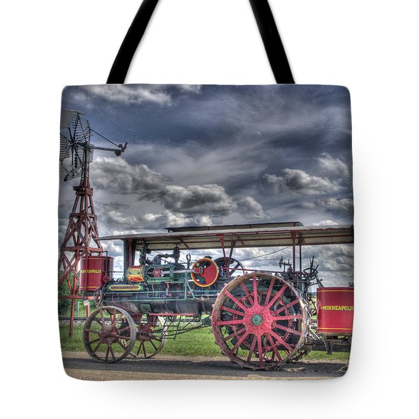 Minneapolis At The Windmill Tote Bag