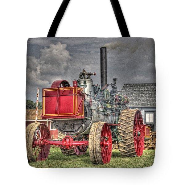 Minneapolis Return Flue  Tote Bag by Shelly Gunderson