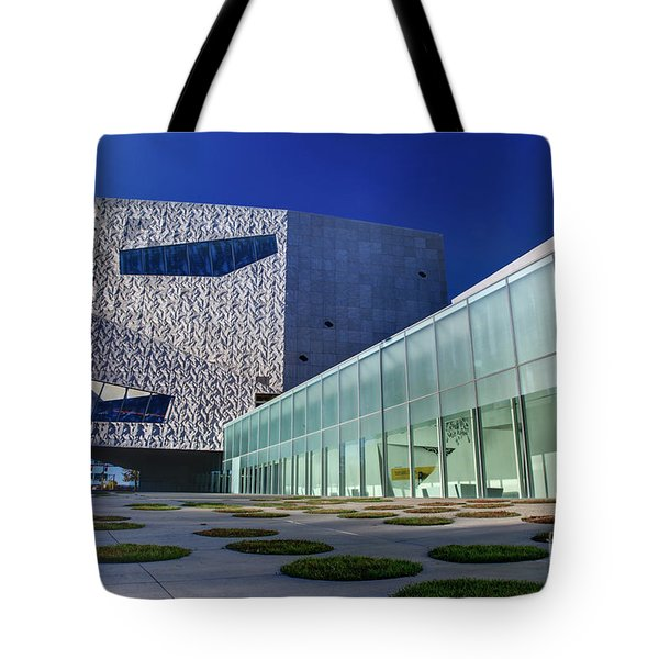 Minneapolis Skyline Photography Walker Art Museum Tote Bag