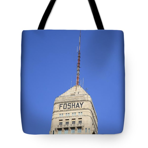 Minneapolis Tower Tote Bag by Frank Romeo