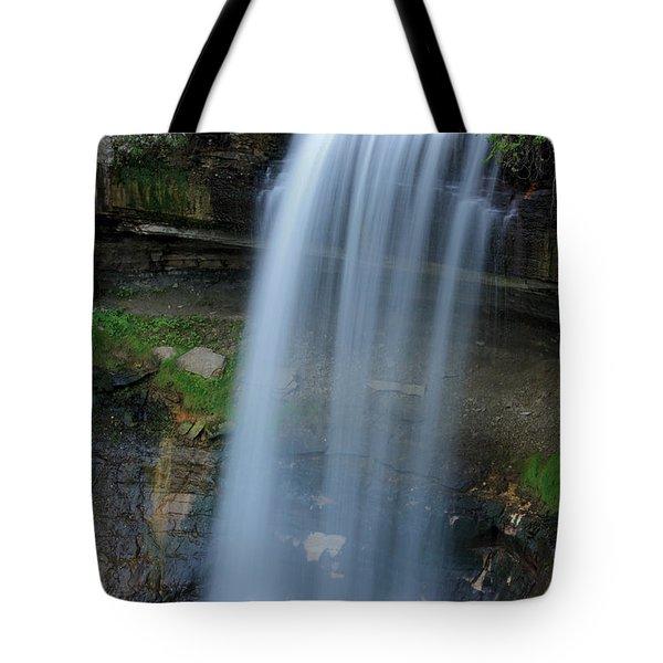 Minnehaha Falls Tote Bag by Kristin Elmquist