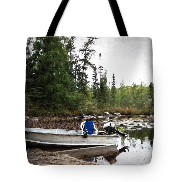 Minnesota Retreat Tote Bag