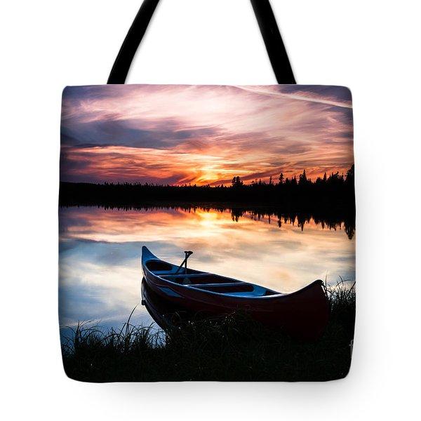 Minnesota Sunset Tote Bag