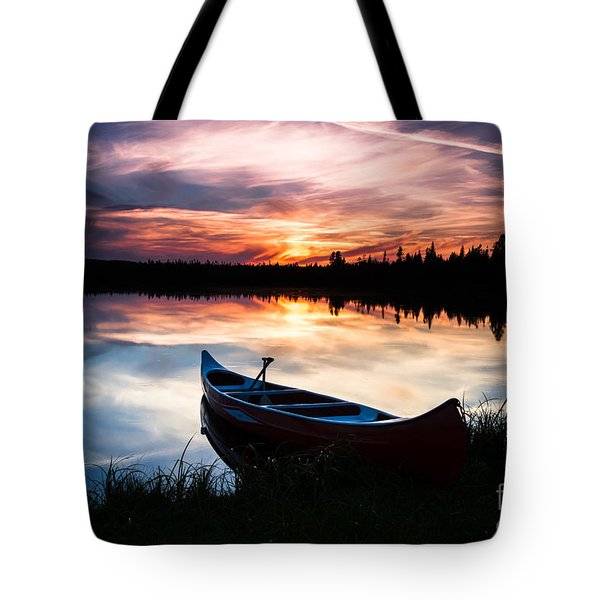 Minnesota Sunset Tote Bag