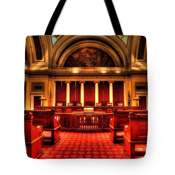 Minnesota Supreme Court Tote Bag