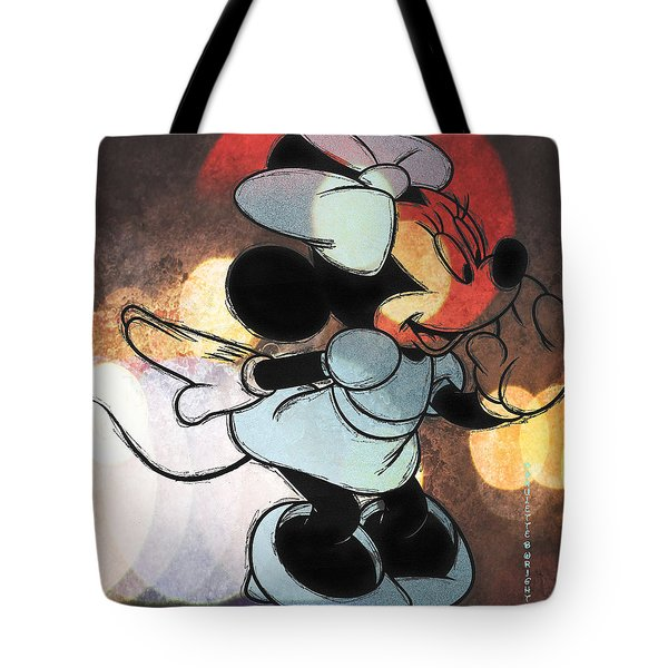 Minnie Mouse Sketchy Tote Bag