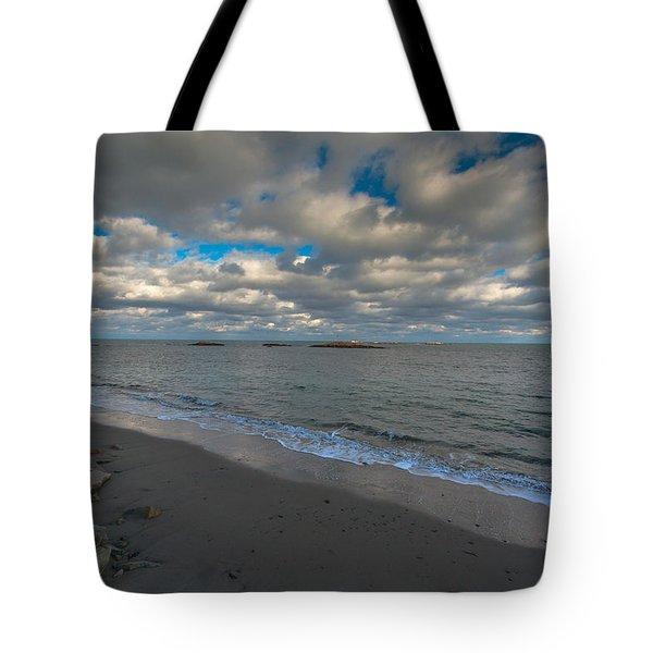 Minot Beach Tote Bag by Brian MacLean