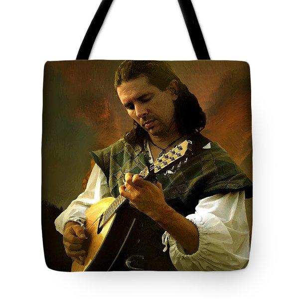 Minstrel Angelic Tote Bag by RC deWinter