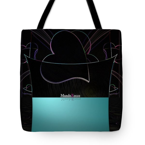 Mint Line Tote Bag