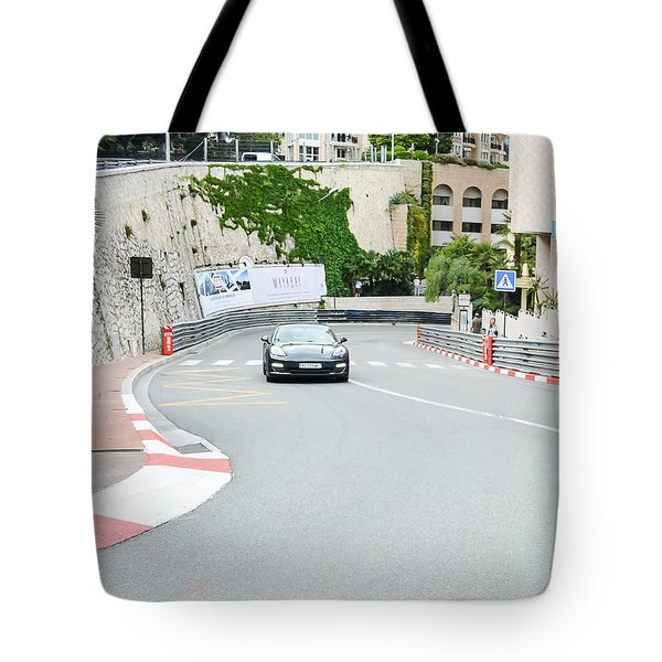 Mirabeau Bas Corner At Monaco Tote Bag
