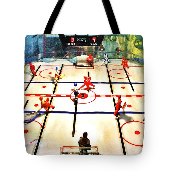 Miracle On Plastic Tote Bag