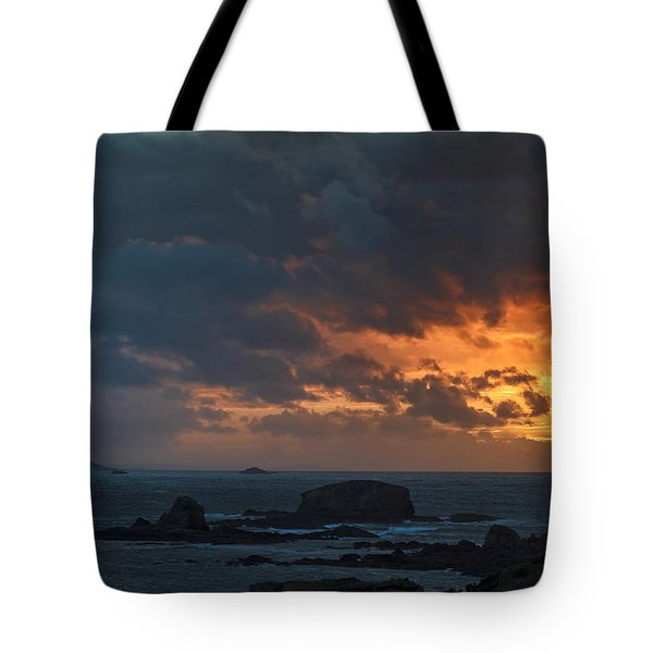 Tote Bag featuring the photograph Mirandas Islands Galicia Spain by Pablo Avanzini