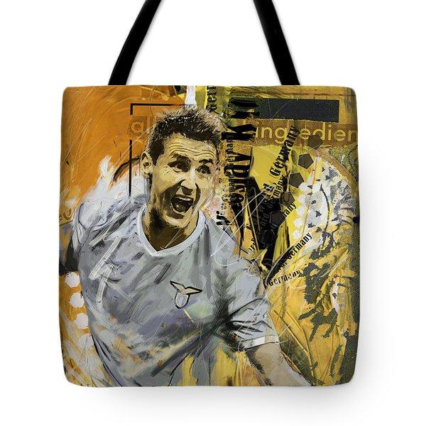 Miroslav Klose - B Tote Bag
