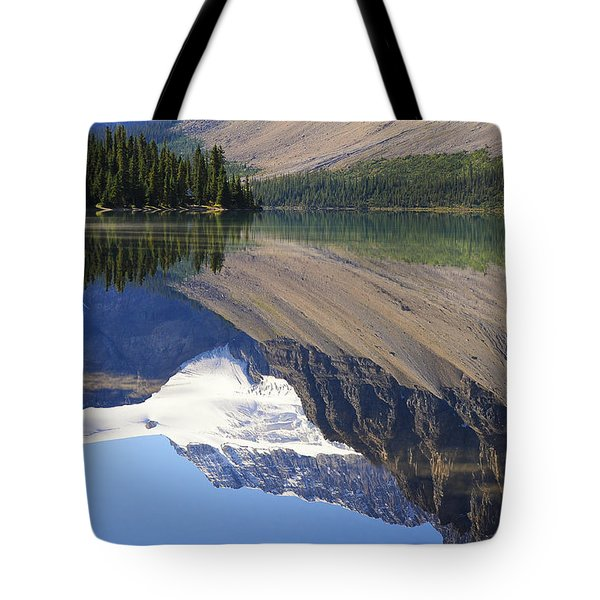 Mirror Lake Banff National Park Canada Tote Bag