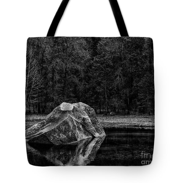 Mirror Lake Boulder Tote Bag