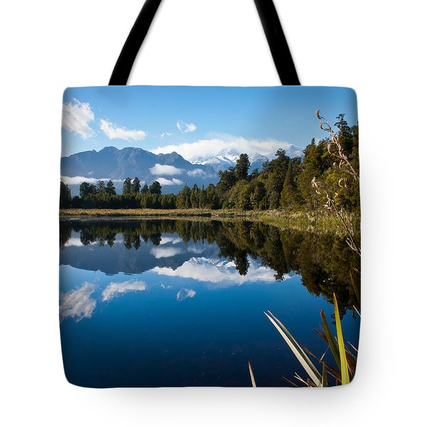 Mirror Landscapes Tote Bag