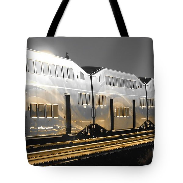 Mirror Of The Winter Sun Tote Bag