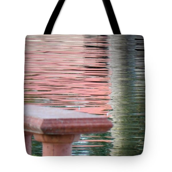 Tote Bag featuring the photograph Mirror To The Soul by Deb Halloran