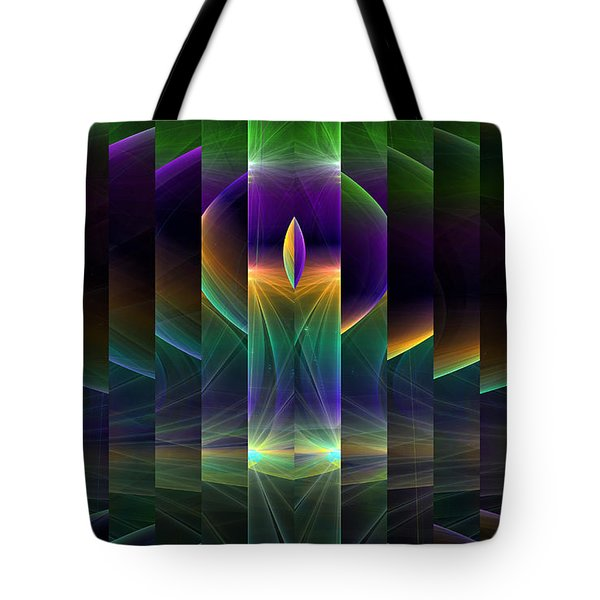 Mirrored Tote Bag by GJ Blackman