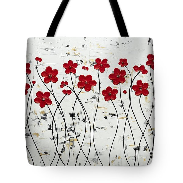 Mis Amores Tote Bag by Carmen Guedez
