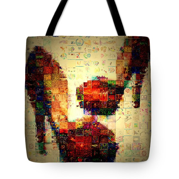 Misbehavin Shoes Tote Bag by Paula Ayers