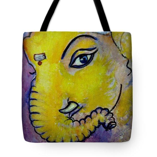 Mischievous Ganesha Tote Bag