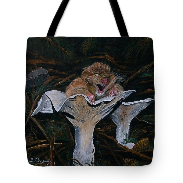 Mischievous Molly Tote Bag