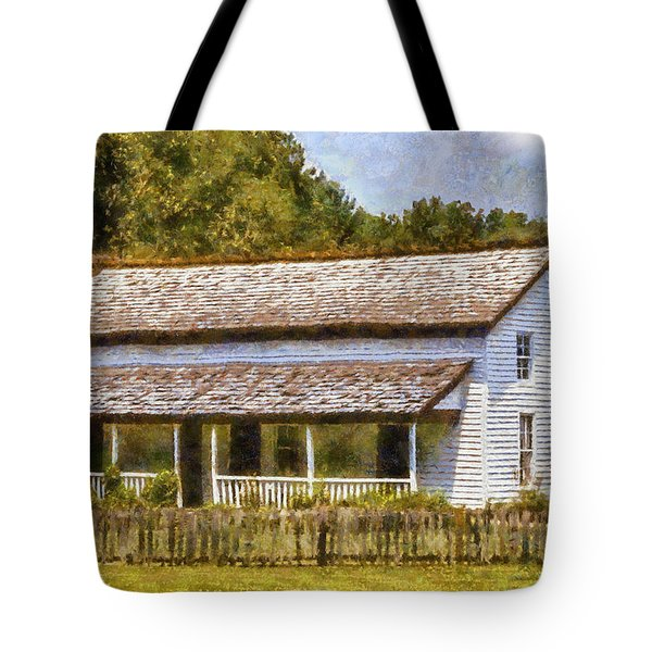 Miss Becky's House Tote Bag by Barry Jones
