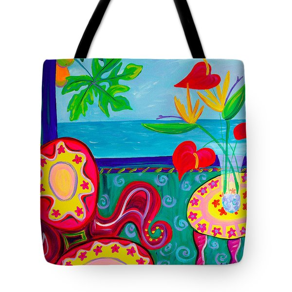 Miss Emma's Parlor Tote Bag by Beth Cooper