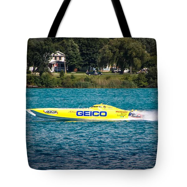 Miss Geico Tote Bag