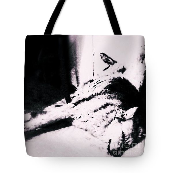 Miss Hannah.  #gsd #germanshepherd Tote Bag