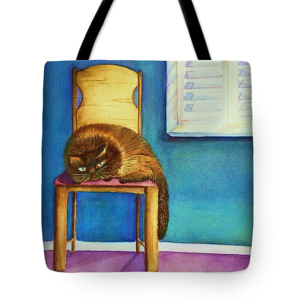 Kitty's Nap Tote Bag