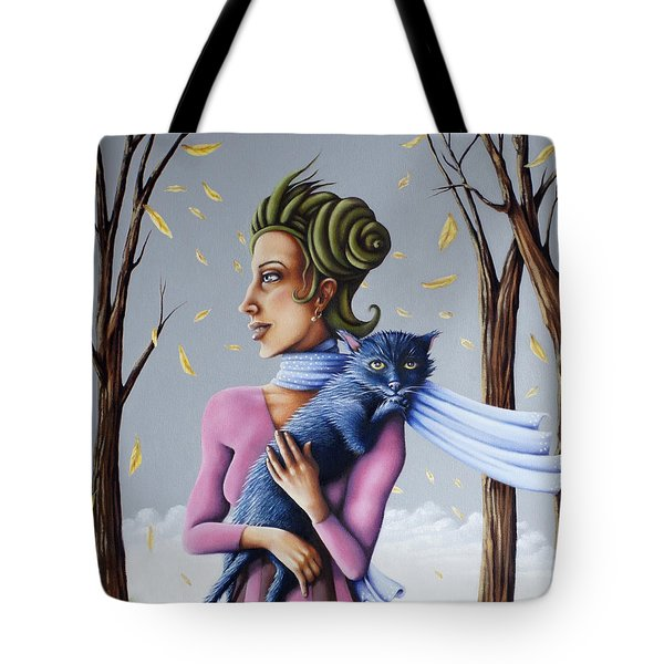 Miss Pinky's Outing Tote Bag