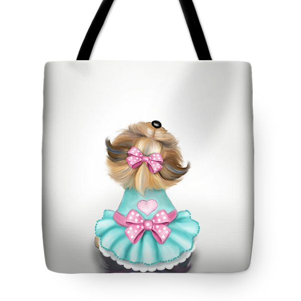 Miss Pretty Tote Bag