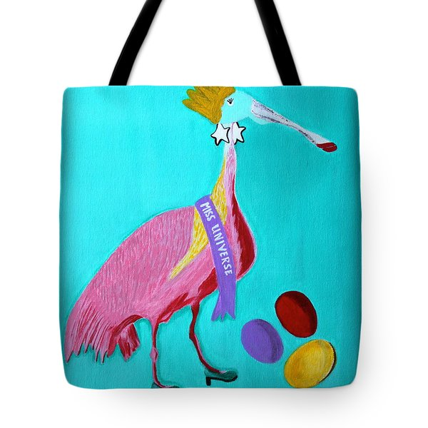 Miss Universe Tote Bag by Lorna Maza