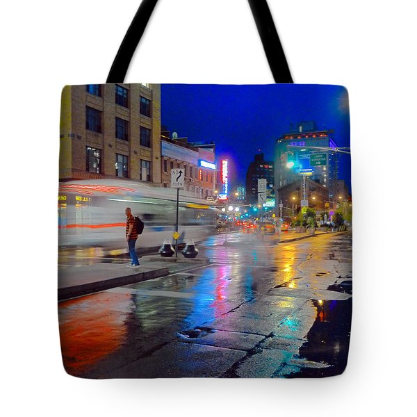 Missed The Bus Tote Bag by Jeffrey Friedkin