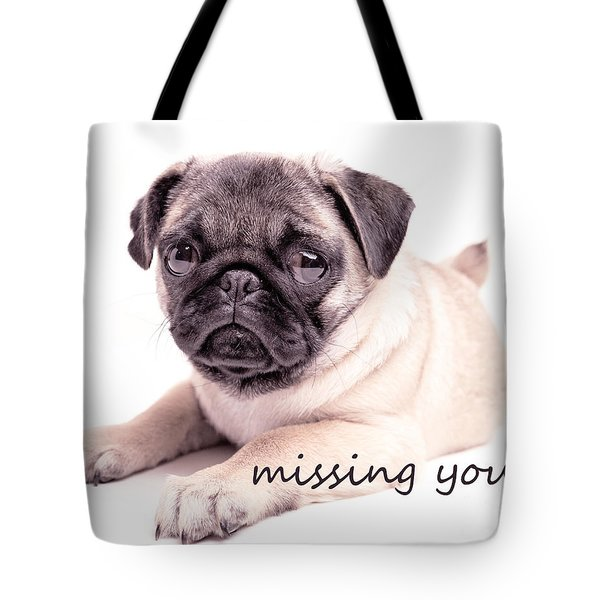 Missing You... Tote Bag by Edward Fielding
