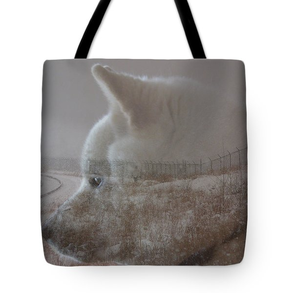 Tote Bag featuring the digital art Missing You  by Stuart Turnbull