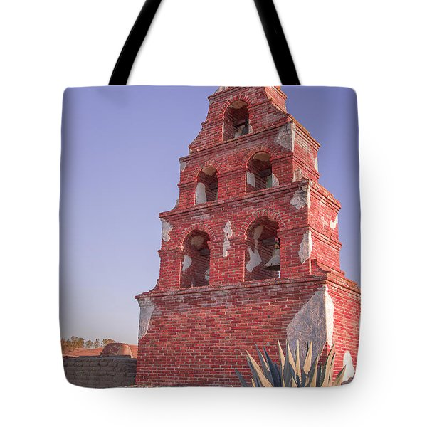 Mission Bells Tote Bag by Tim Bryan