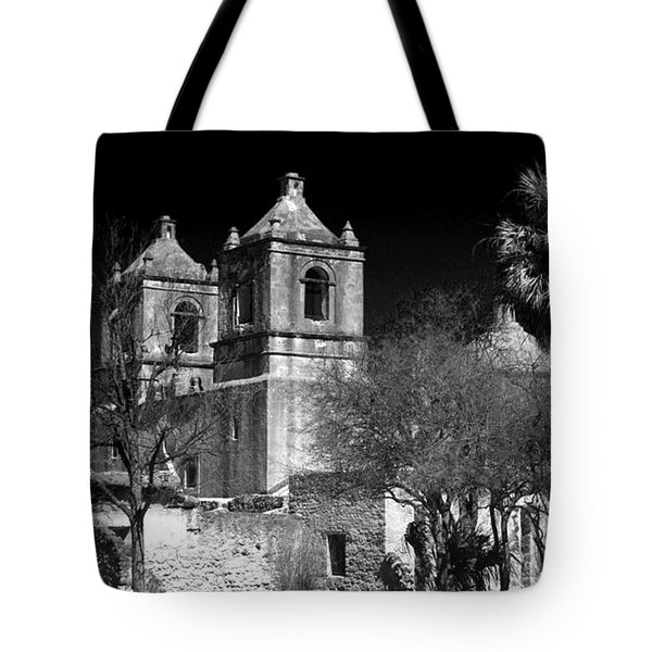 Mission Concepcion Tote Bag by Brian Kerls