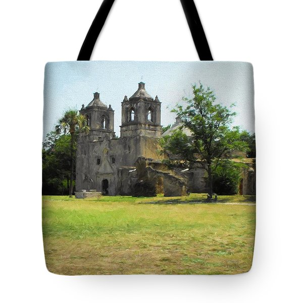 Mission Concepcion Tote Bag