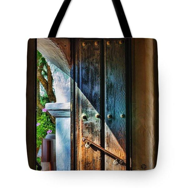 Mission Door Tote Bag