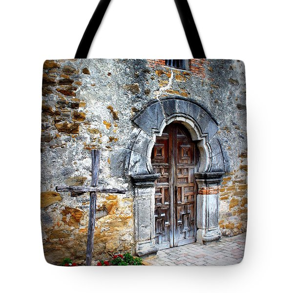 Mission Espada - Doorway Tote Bag