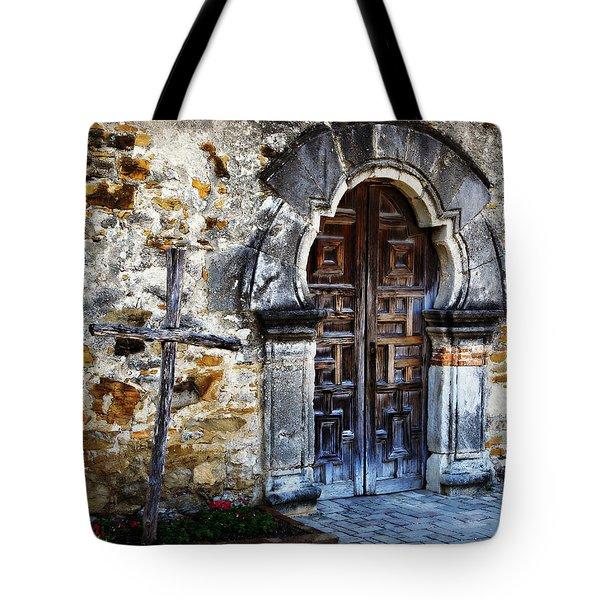 Mission Espada Entrance Tote Bag