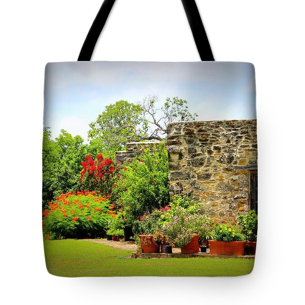 Mission Espada - Garden Tote Bag