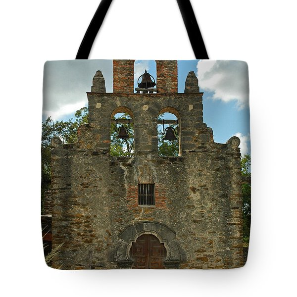 Tote Bag featuring the photograph Mission Espada by Olivia Hardwicke