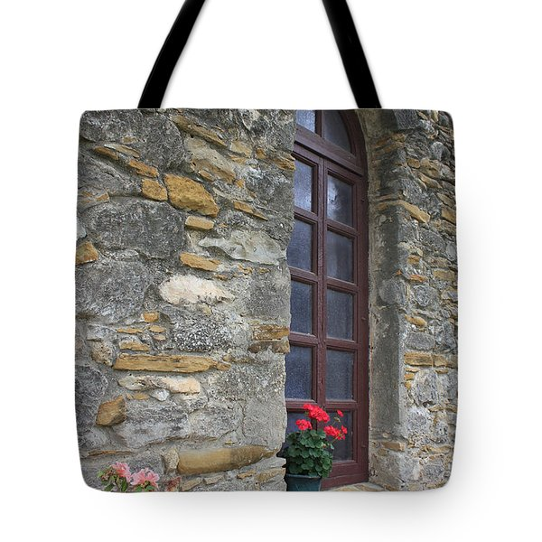 Mission Espada Window Tote Bag